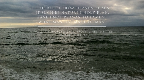 If this belief from Heaven be sent, If such be Nature's holy plan, Have I not reason to lament What man has made of man-
